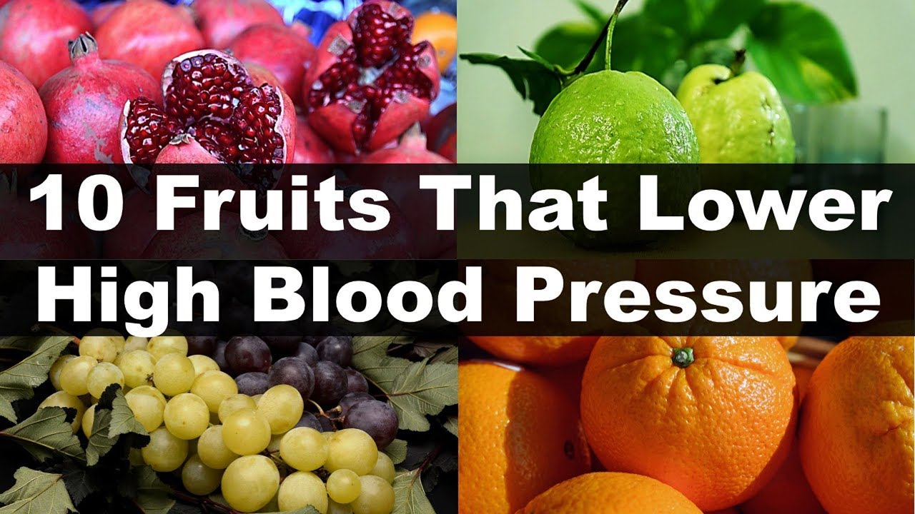 10 Fruits That Lower High Blood Pressure Naturally ...