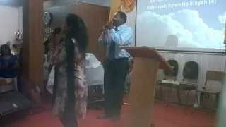 Praise song in Kreol and Hindi in Mauritius - Persis John