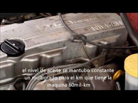 sonido del motor KA24E de la nissan