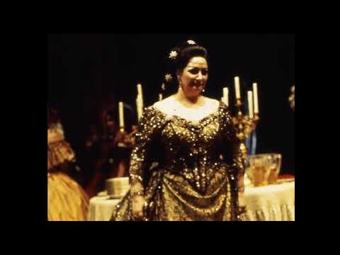Teneste la promessa... Addio del passato (uncut); La Traviata; Montserrat Caballé