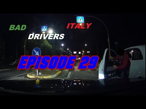Bad Drivers on Italy Streets + Car Crash // DashCam Episode 29