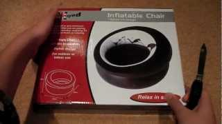 Inflatable Chair Unboxing