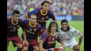 Hi welcome to our you tube channel futbol life about this video ronaldinho playing for ac milan plz like and share updates thank so much........