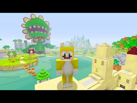 Minecraft: Super Mario Edition - Heading Into Town {4}