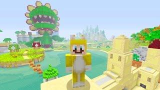 Minecraft: Super Mario Edition - Heading Into Town {4}