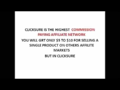Step By Step Affiliate Marketing Tutorials ~ With ClickSure