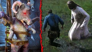 SCARIEST Easter Eggs in Red Dead Redemption 2 (RDR2 Easter Eggs)