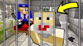 БОМЖ и ДЕВУШКА СБЕЖАЛИ ИЗ ТЮРЬМЫ В Майнкрафте! Minecraft Мультики Майнкрафт троллинг Нуб и Про