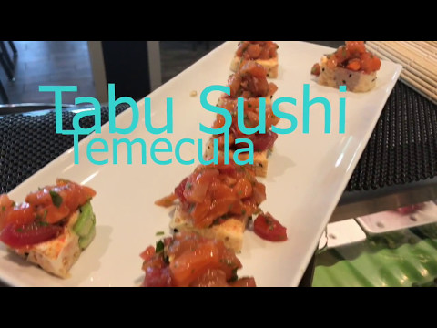 The #1 Sushi Roll in Temecula - Ceviche Roll