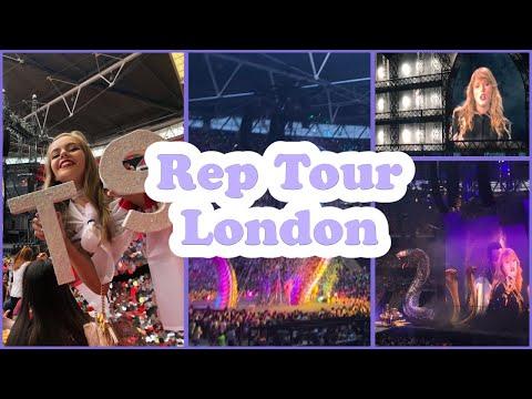 Rep Tour Vlog 23/06/18 - Reputation Merch Haul