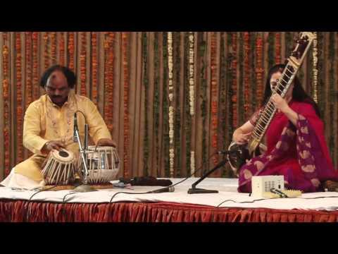 Ms Dalal - Sitar ( Saptak Annual Music Festival - 2016 )