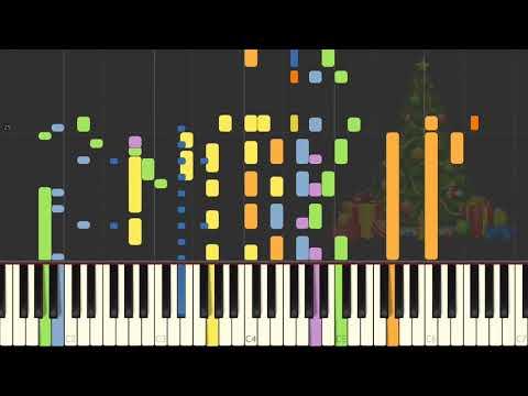 Rockinu0027 Around The Christmas Tree On Piano [SYNTHESIA]
