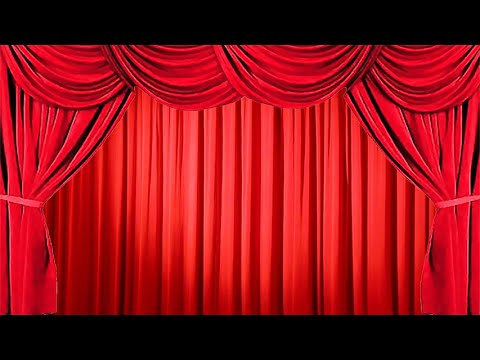 How to Create the Effect of Opening and Closing the Stage Red Curtain on PowerPoint 2013