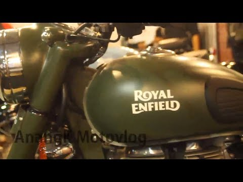 anangk royal enfield classic 500cc green army style