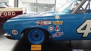 Richard Petty #43 1964 Plymouth Belvedere Nascar Stock Car, Nascar Hall of Fame, Charlotte, NC