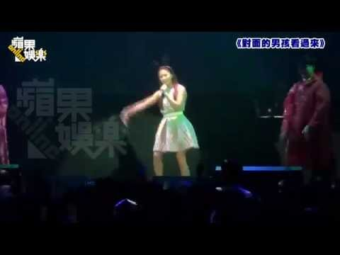 "[14.10.19] Ha Ji Won - dance ""I'm the best"" and sing ""Kanguolai"" in her Taiwan Fanmeeting"