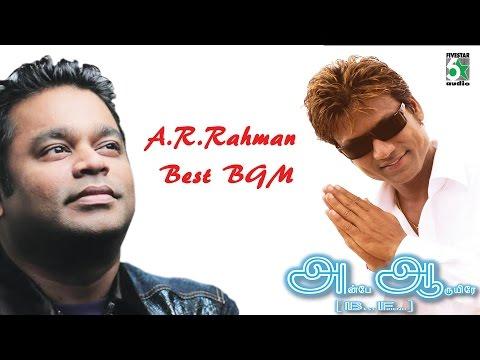 A R Rahman Super Hit Best BGM | Anbe Aaruyire