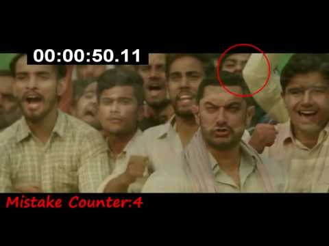 15 Major Mistakes From Dangal   Bollywood Movie Official Trailer   Aamir Khan Must Watch