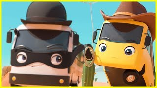 Cowboy Buster | Go Buster in the Wild West! | Baby Cartoons | Videos for Kids |  ABCs and 123s