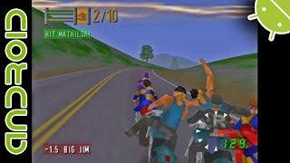 Road Rash 64   NVIDIA SHIELD Android TV   Mupen64Plus FZ Emulator [1080p]   Nintendo 64