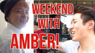 AMBER WEEKEND! UC RIVERSIDE & GONG CHA!