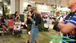1080p 130719 haha ha dong hoon arrival at singapore changi airport