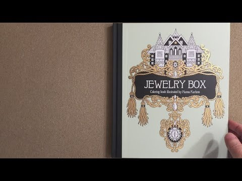 Jewelry Box Coloring Pages