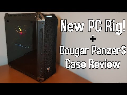New PC Showcase and Build! - Cougar Panzer-S Case Review