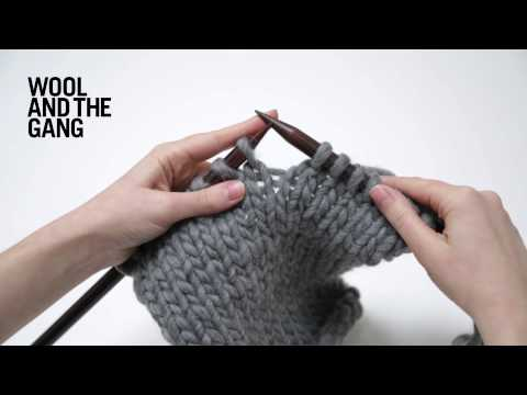 Knitting Increasing Stitches Make One : Knitting Beginner - Increases - M1 Make One and Adding stitches at ...