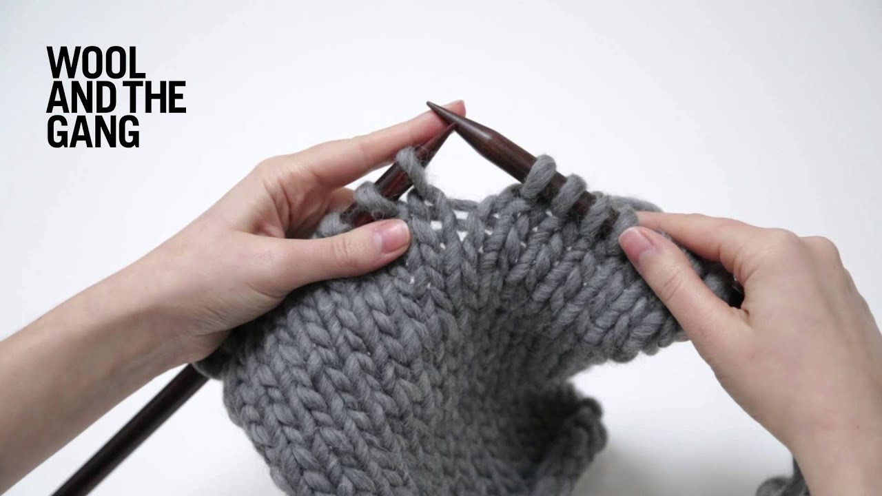 How To Increase Number Of Stitches Knitting : How To Increase Stitches In Knitting - YouTube