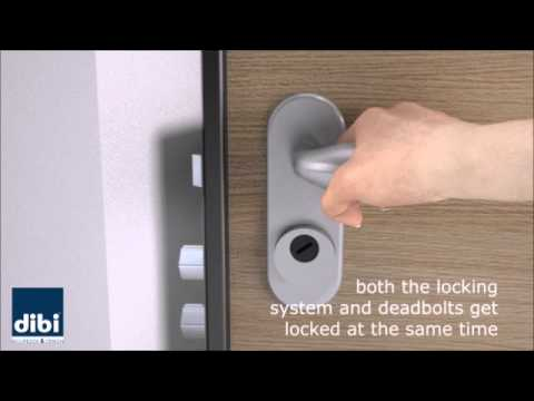 Meccanya - door with automatic closing