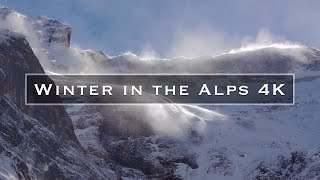 Winter in the Alps 4K