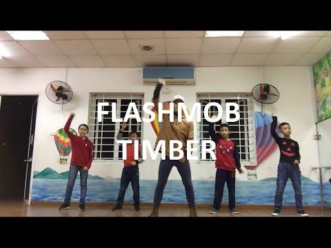 1001 Flashmob - Timber / Giáo viên - Hoàng Đình Bùi (Nhảy hiện đại)