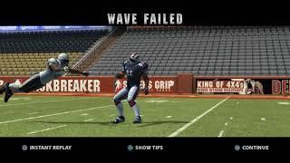 RPCS3 0.0.5 4k IR | Backbreaker Vengeance Demo Gameplay