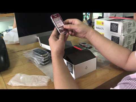Máy tính bỏ túi Nokia E75
