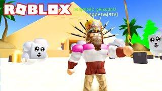 PIRAMIDES AREA AND NEW PETS EGIPCIAS! 📦 Roblox Unboxing Simulator