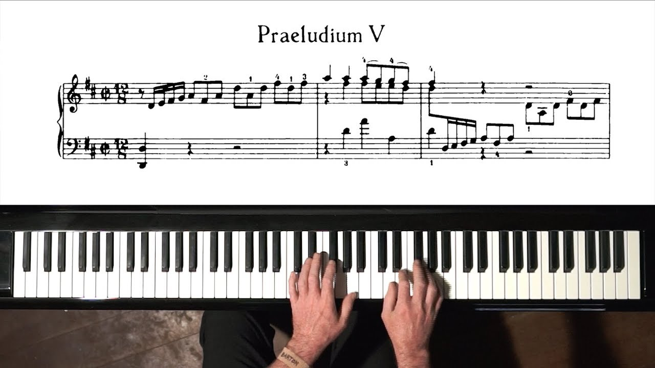 The Well-tempered Clavier (Book II): Prelude and Fugue No. 5