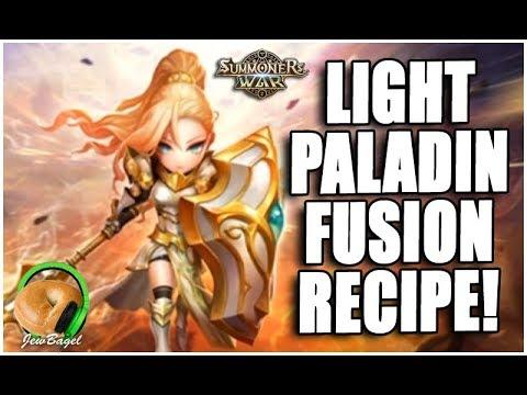 SUMMONERS WAR : Light Paladin Fusion Recipe Announced!