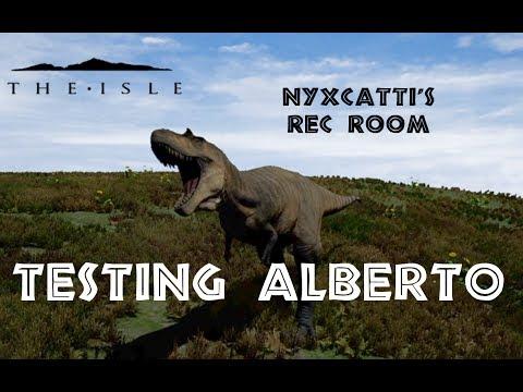 The Isle – Testing Albertosaurus w/ Friends!