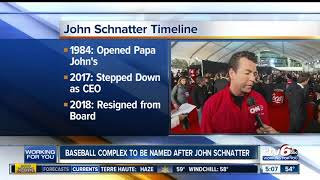 School board names facility after Papa John's founder