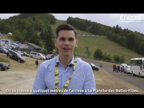ENEDIS : TOUR DE FRANCE ELECTRIQUE
