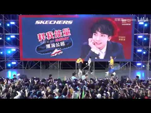 Guo Cheng, Song Ji Yang, Zheng Fan Xing ~ Skechers Event LIVE CUT 2019/09/01