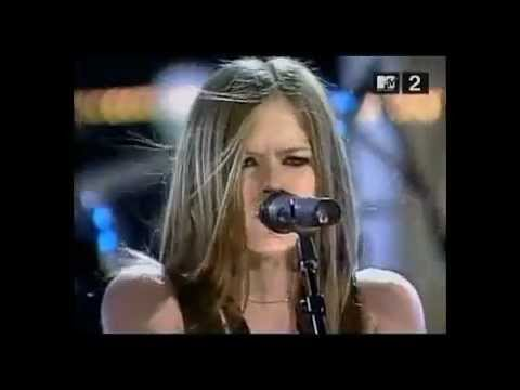 Avril Lavigne Nobody's Fool Live In Rock And Roll Hall Of Fame 2002 2/6