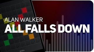 Playing ALL FALLS DOWN   Alan Walker on SUPER PADS LIGHTS - Launchpad - KIT FALLS
