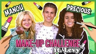 MAKE-UP CHALLENGE met LEVY, MANOU & PRECIOUS van FIRST KISS! + GIVEAWAY