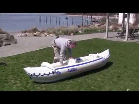 Sea Eagle SE370K P Inflatable Kayak with Pro Package