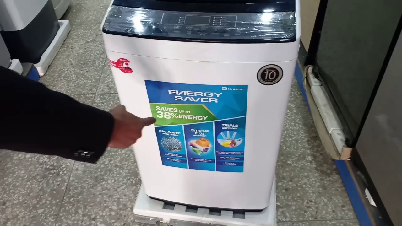 Dawlance Automatic Washing Machine Price In Pakistan 2020 Features Price How To Use Dw 255es Youtube
