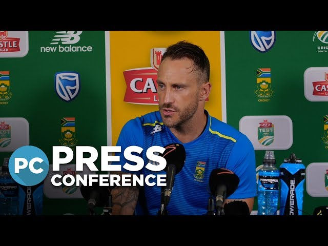 'SL surprised us in the first Test' - du Plessis