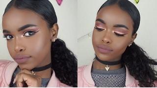 Valentines day makeup look♡