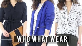 Who What Wear for Target TRY ON Clothing Haul & Review Fashion First Impression Miss Louie